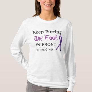 Camiseta Guarde el poner de un pie delante del otro