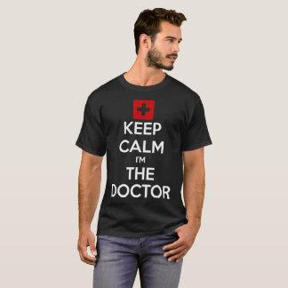 Camiseta Guarde la calma que soy el doctor Men Black