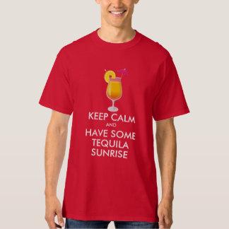 Camiseta Guarde la calma - salida del sol del Tequila