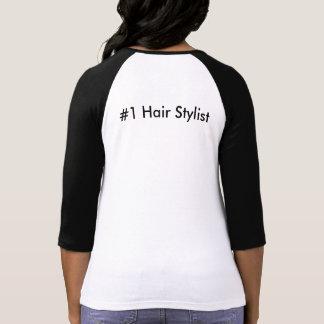 Camiseta Guarde la calma y ame al Hairstylist #1