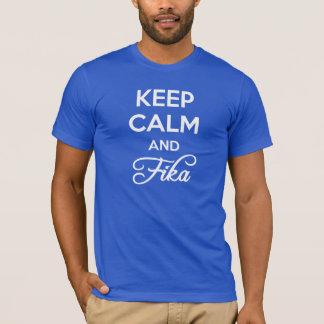 Camiseta Guarde la calma y FIKA