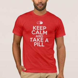 Camiseta Guarde la calma y tome una píldora (del diazepam)