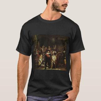 Camiseta guardia nocturna 1642 de Rembrandt del guardia