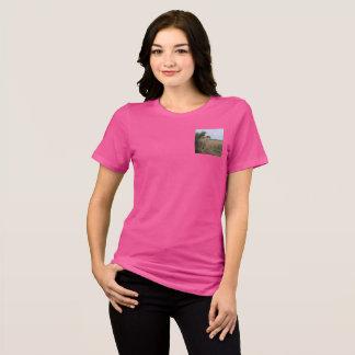 Camiseta Guepardo y cachorro de la madre