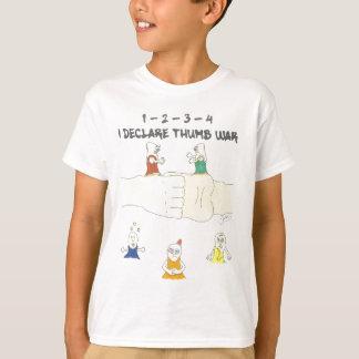 Camiseta guerra del pulgar