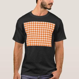 Camiseta Guinga anaranjada y blanca