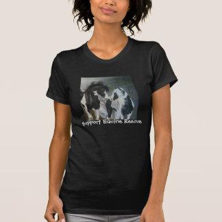 Camiseta guinness&slainte, rescate equino de la ayuda