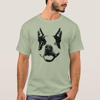 Camiseta Guiño de Boston Terrier