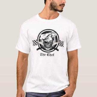 Camiseta Guiño del cráneo del cocinero