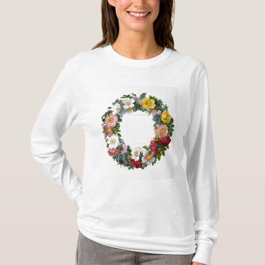 Camiseta Guirnalda de rosas, Frontispiece para los 'rosas