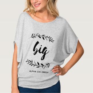 Camiseta Guirnalda grande alfa de Omega el | de la ji