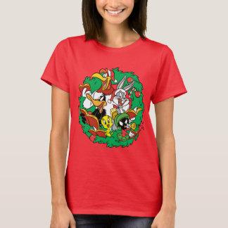 Camiseta Guirnalda LOONEY del navidad del grupo de TUNES™