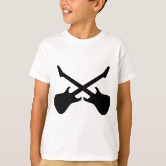 Camiseta Guitarras cruzadas