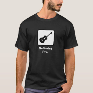 Camiseta Guitarrista favorable (oscuro)