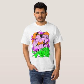 Camiseta gusanos graff