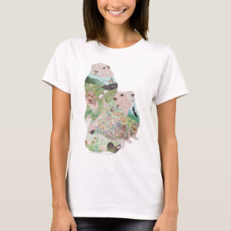 Camiseta Hábitat de Ridge de la marmota