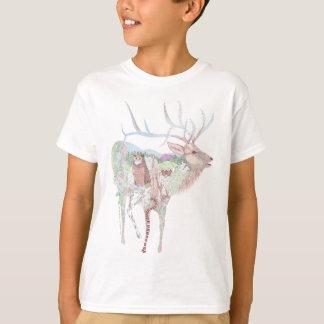 Camiseta Hábitat del prado de los alces
