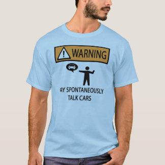 Camiseta Habla de los coches