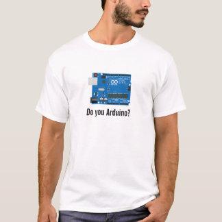 Camiseta ¿Hace usted Arduino?