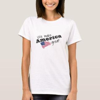 Camiseta ¡Hacemos América grande!
