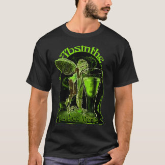 Camiseta Hada de Verte de la tarifa del La del ajenjo con