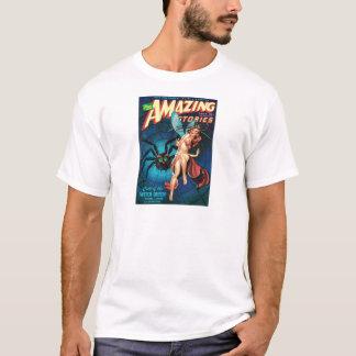 Camiseta Hada en un Web de araña