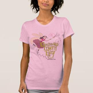 Camiseta Hada encantada de la matemáticas