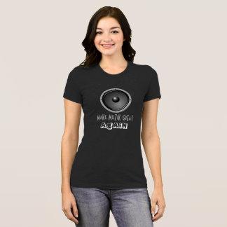 Camiseta Haga MuZiK grande otra vez con el altavoz