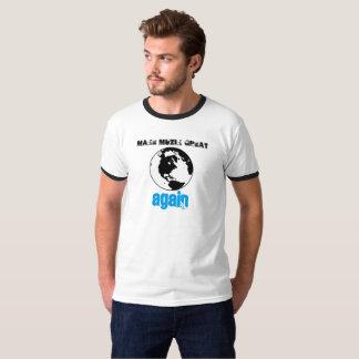 Camiseta Haga MuZiK grande otra vez con el mundo