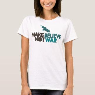 Camiseta Haga para creer no guerra