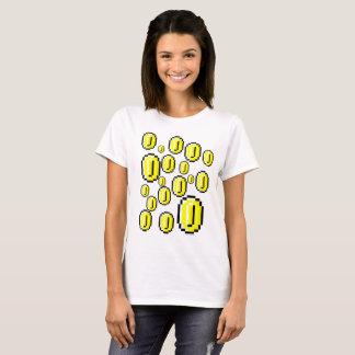 Camiseta Haga que llueve monedas de oro retras