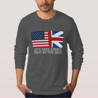 Camiseta Hagamos América Gran Bretaña otra vez