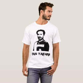 Camiseta Haile Selassie Ras Tafari con la bendición de