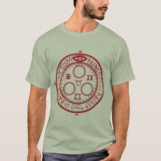 Camiseta Halo silencioso de la colina del Sun (sello de