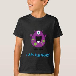 Camiseta hambrienta del monstruo