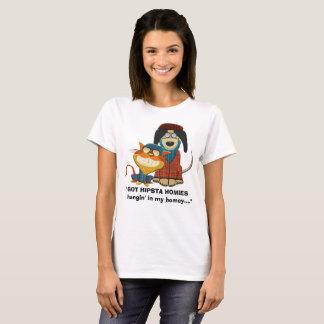 Camiseta Hangin CONSEGUIDO de HIPSTA HOMIES en mi hogareño…