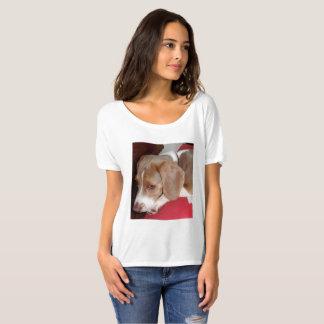 Camiseta Hank el cervatillo del azul del beagle