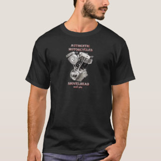 Camiseta Harley Davidson - Authentic Motorcycles Shovelhead