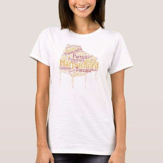 Camiseta Harpsichord Cloud Shirt