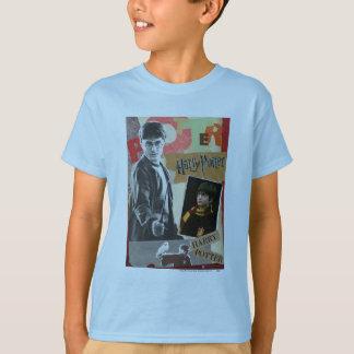 Camiseta Harry Potter entonces y ahora