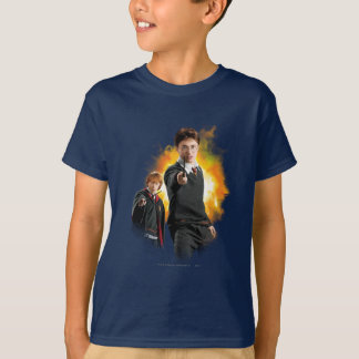 Camiseta Harry Potter y Ron Weasely