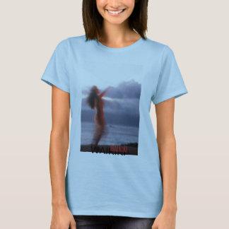 Camiseta hawaiana con diseño de la impresión de la
