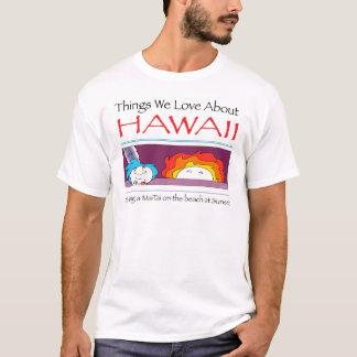 Camiseta Hawaii por Harrop-T-c