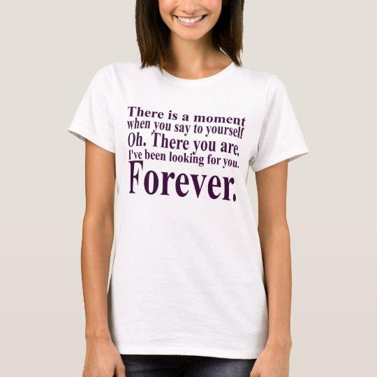 Camiseta Hay un momento…