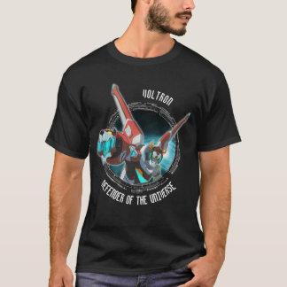 Camiseta Haz rojo del plasma del león de Voltron el  