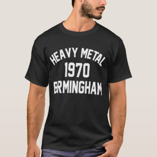 Camiseta Heavy Metal 1970 Birmingham