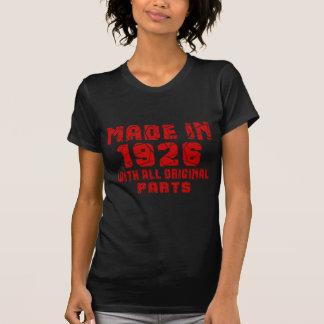 Camiseta Hecho en 1926 con todas las piezas originales
