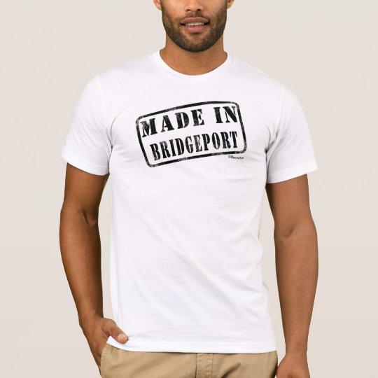 Camiseta Hecho en Bridgeport
