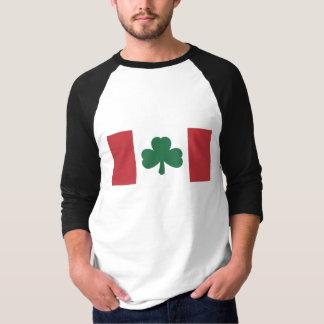 Camiseta Hecho en Canadá… Con las piezas irlandesas