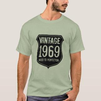 Camiseta Hecho en el año el 1969% el pipe% envejeció a los